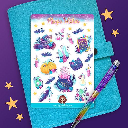 Magic Within Sticker Sheet
