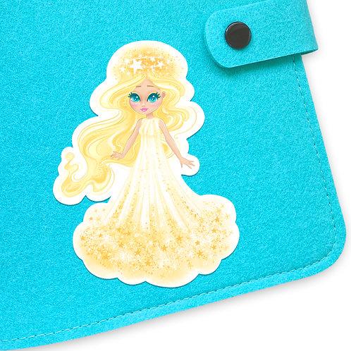 Angels Mascot Sticker
