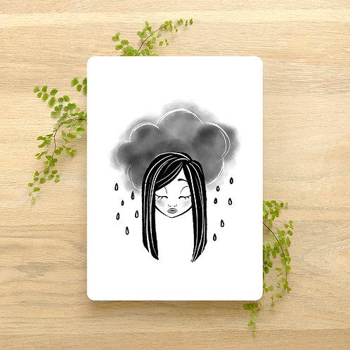 Art Print ~ A5 ~ 'Inktober 2019 Mindless' by Liz Yuile
