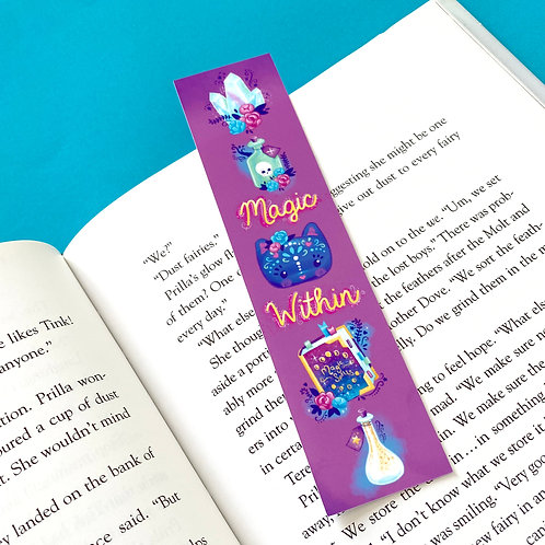 Magic Within Witchy Things Bookmark