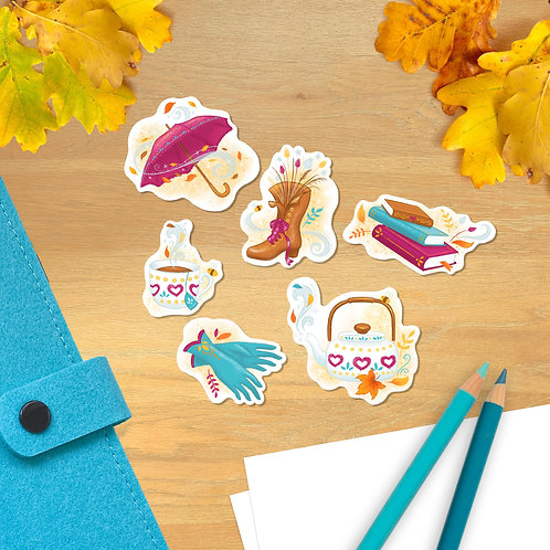 Falling for Autumn Sticker Pack