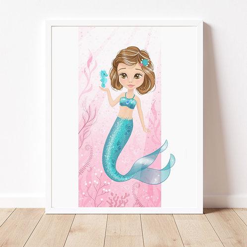 Custom Mermaid Portrait