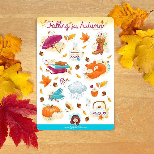 Falling for Autumn Sticker Sheet