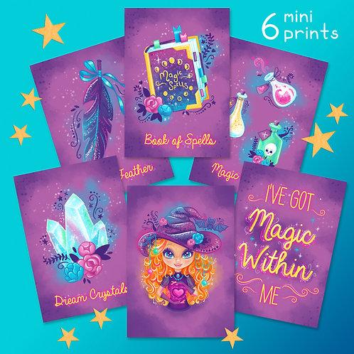 Magic Within Mini Prints