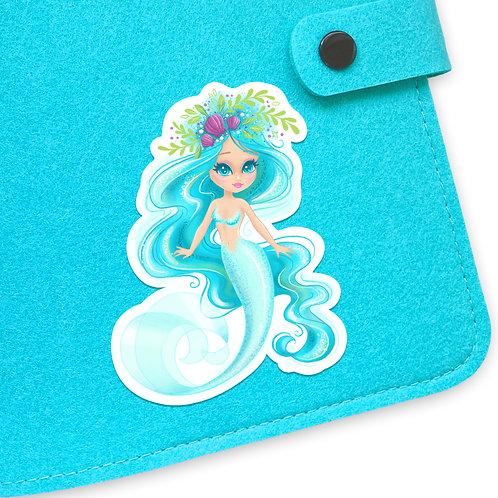 Mermaids Mascot Sticker