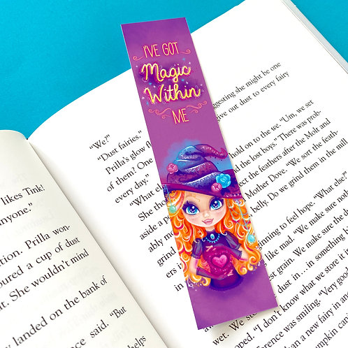 Magic Within Witchy Bookmark