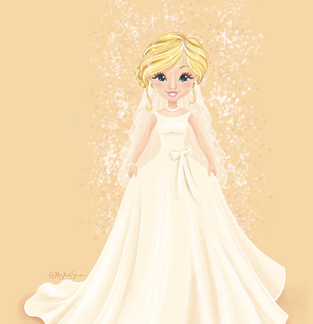 Glam Bride Portrait