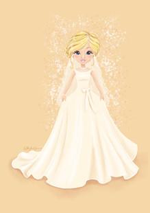 Glam Bride Portrait