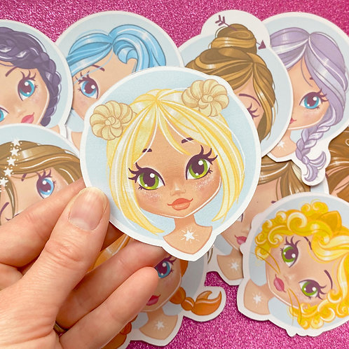 Aries Zodiac Sticker