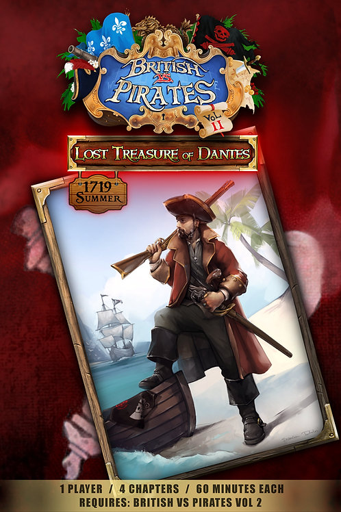 Voyage 1 (Lost Treasure of Dantes)