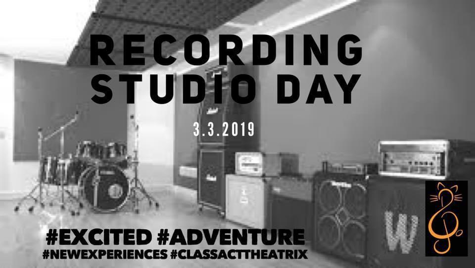 Recording Studio Day