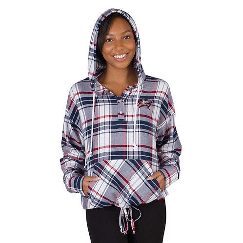 Ladies' Accolade L/S Hooded Top