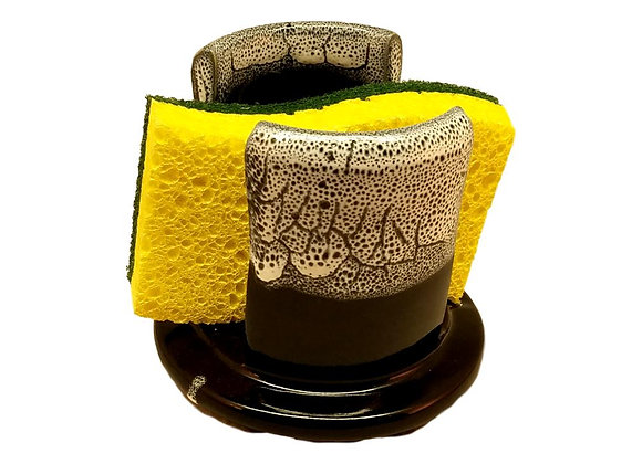 Handmade Pottery Sponge Holder