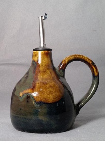 Handmade Pottery Olive Oil Dispenser
