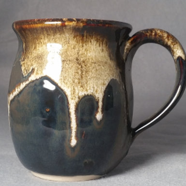 Handmade Pottery Belly Mug