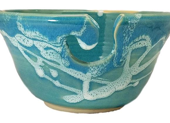 Handmade Pottery Yarn Bowl