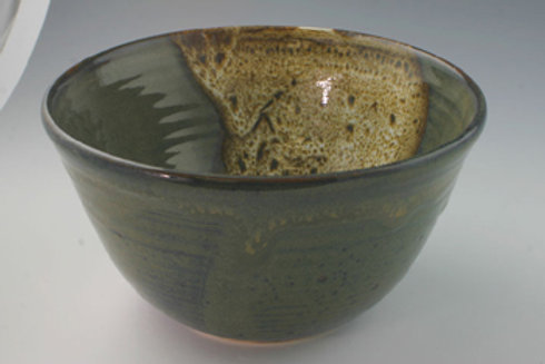 Handmade Pottery Cereal Bowl