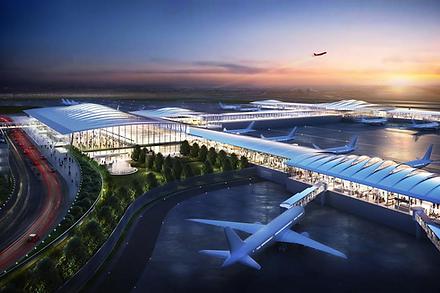 New KCI Terminal Render