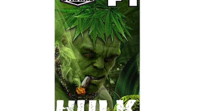 Hulk King II worlds strongest strains 5 Reg seed pack