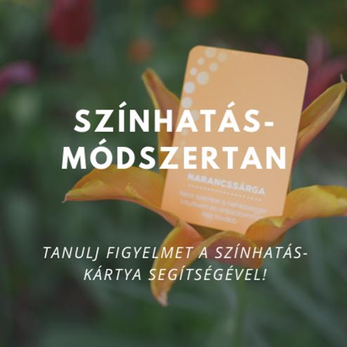Gyakorlati útmutató - SzínHatÁs módszertan (MOST 999 Ft-ért letölthető!)