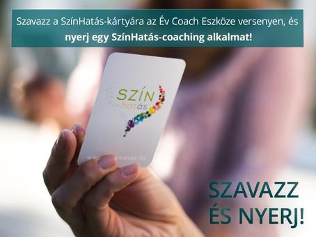 Szavazz, és nyerj online önismereti coachingot!