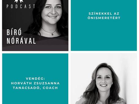 Színekkel az önismeretért - podcast interjú és mini coaching