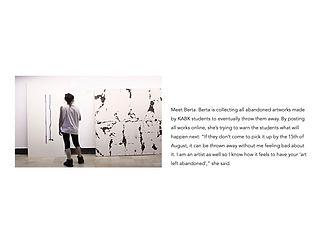 maya yena, art abandoned, art is never finished, design