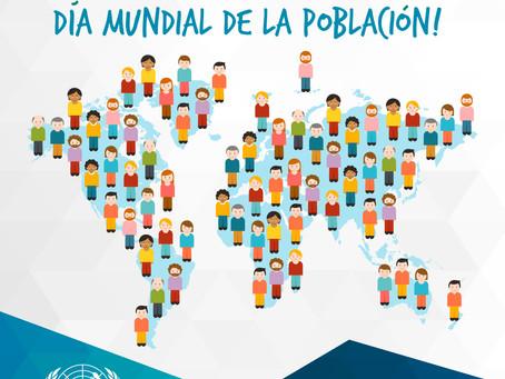 Día Mundial de la Población! 🙋🏻♂️🙋🏼♀️🙋🏿🙆🏿♂️