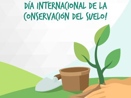 Día internacional de la conservación del suelo!🌱🤎