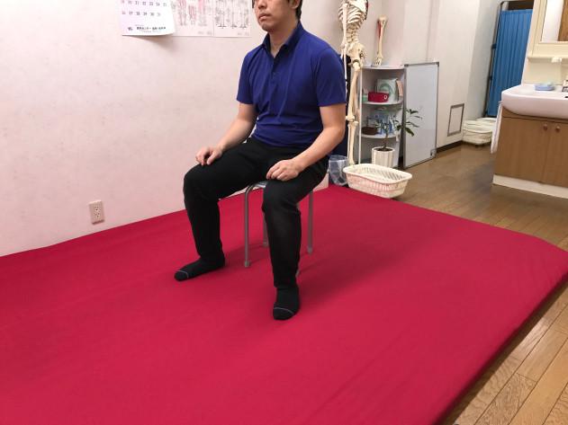 大阪富田林 こんごう体育整体院 肩こり腰痛に効果的なめっちゃ大事な座り直しと立ち上がり方
