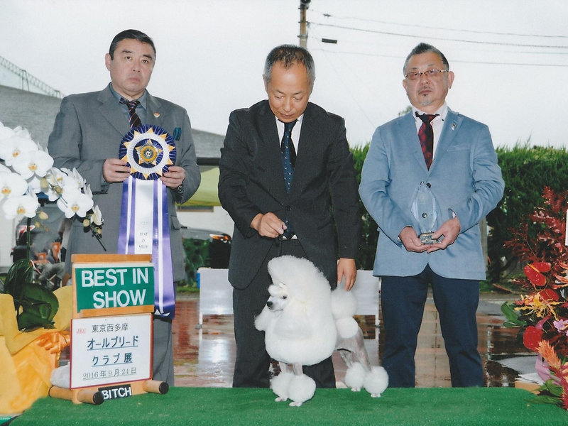 Sep. 24, 2016 Dog Show in Tokyo