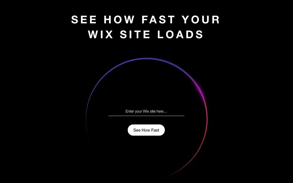 Wix Speed Test Wixスピードテスト