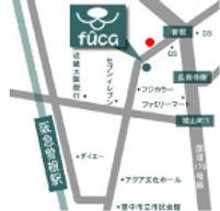 大阪豊中 ドッグサロンfuca 地図