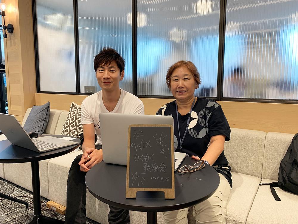 ACTONE(アクトワン)の和田英也さんと、NKP PC ROOMの松尾香津恵さん