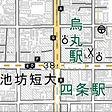 阪急電車 烏丸駅・地下鉄 四条駅