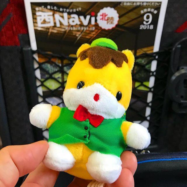 群馬県のキャラクター「ぐんまちゃん」大阪にお持ち帰り