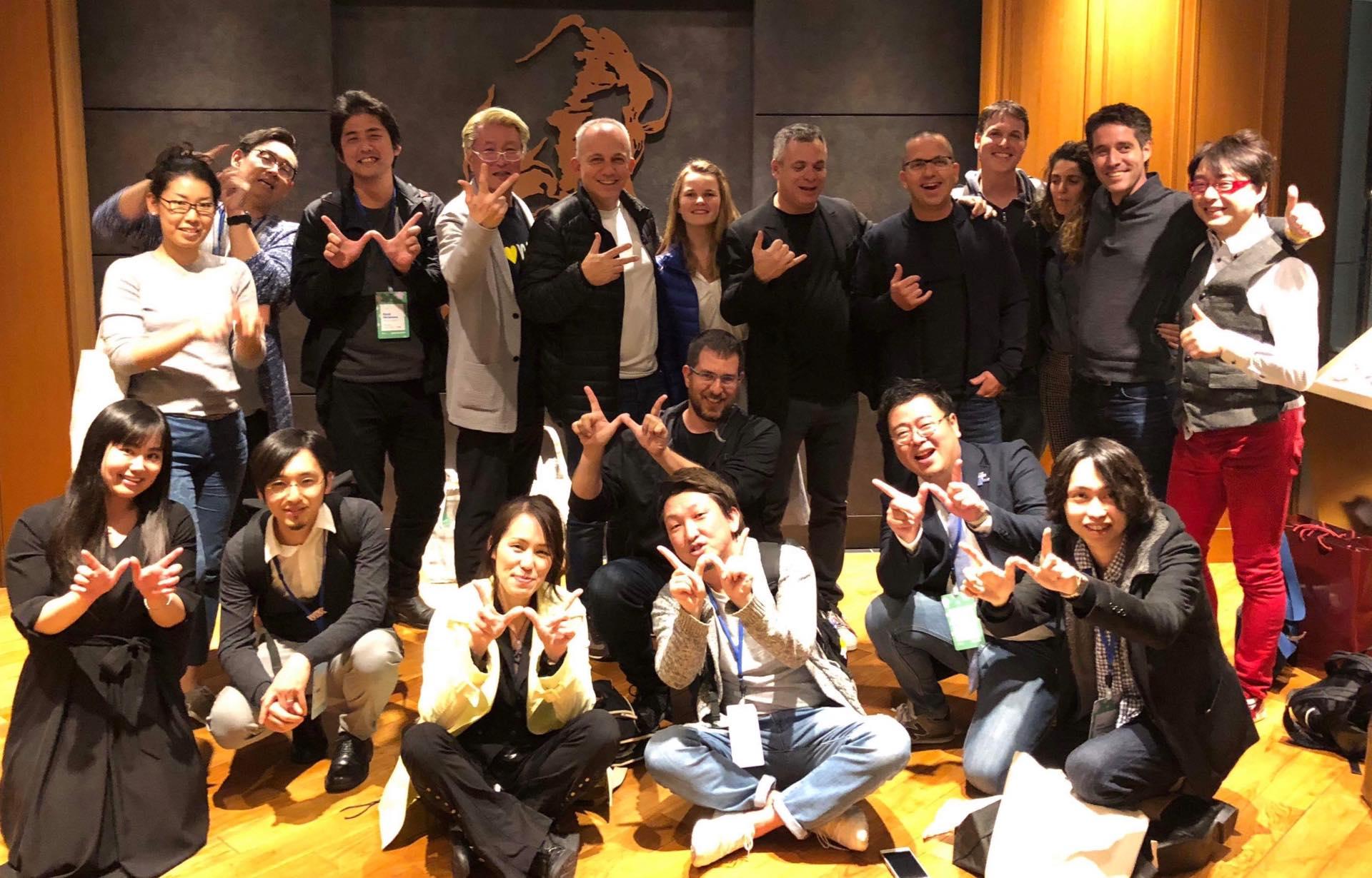 2018年3月27日 Wix Japan Summit 2018 Wix経営陣来日、Wix公式アンバサダーとして参加。