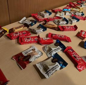 Wix Meetup JAPAN 2019で提供されたお菓子