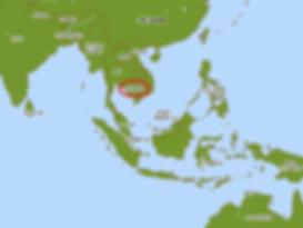 カンボジアの地理・時差
