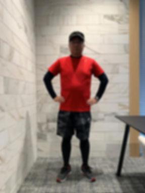 100kmウォーク日中の徒歩 服装