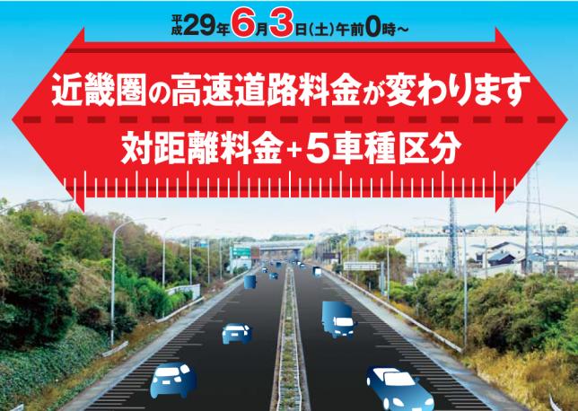 近畿圏の新たな高速道路料金 | NEXCO西日本 お出かけ情報