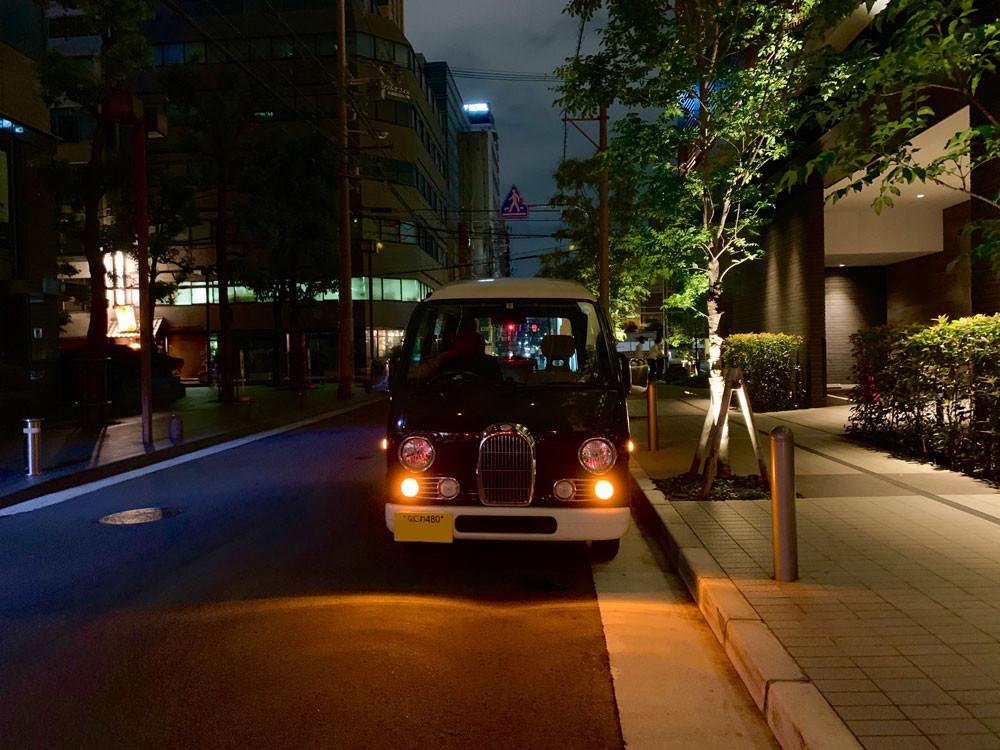 23時頃、大阪から名古屋へ向けて出発