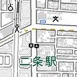 JR二条駅・地下鉄二条駅