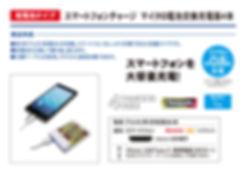 TOPLAND スマートフォン用電池交換式充電器