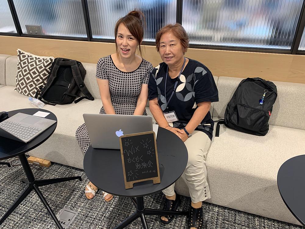 NKP PC ROOMの松尾香津恵さんは、久しぶりにWix触ったそうです(笑)