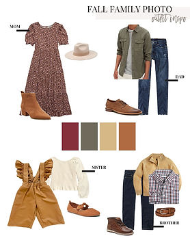Fall Family Outfit Inspiration _ SandyAL