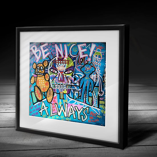 Be Nice (40 copies)