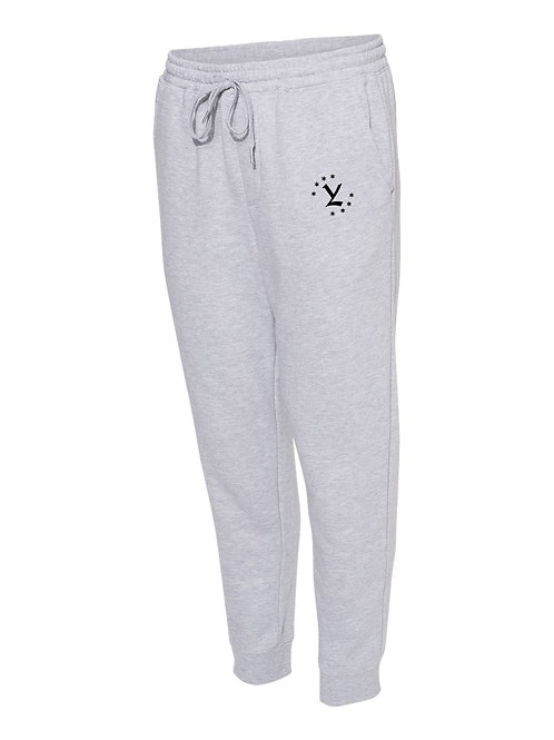 Grey YL Emblem Fleece Joggers