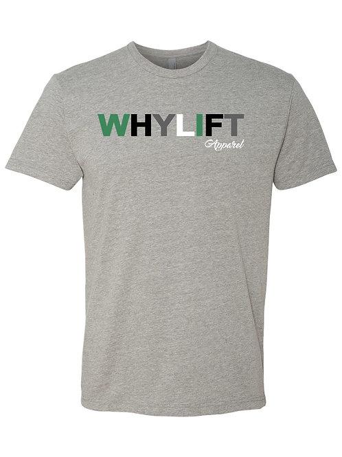 WhyLift V.1 Olive Grey Unisex Tee