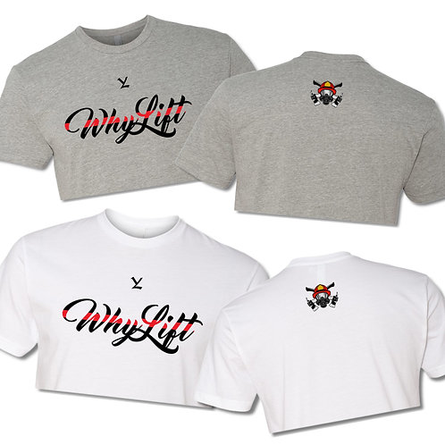 Red Line Crop Top Fireman (Multiple Colors) Unisex Sizing